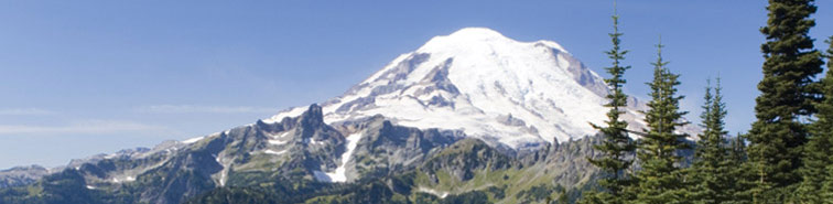 Mt. Rainier - close to Bonney Lake,  Puyallup, Sumner